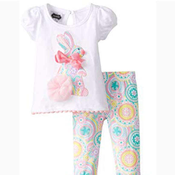 Mud pie Easter outfit 12-18 months NEW f0287f68f
